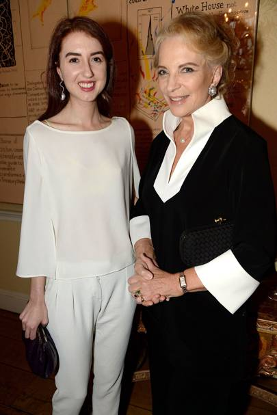 Isabella Huffington and Princess Michael of Kent