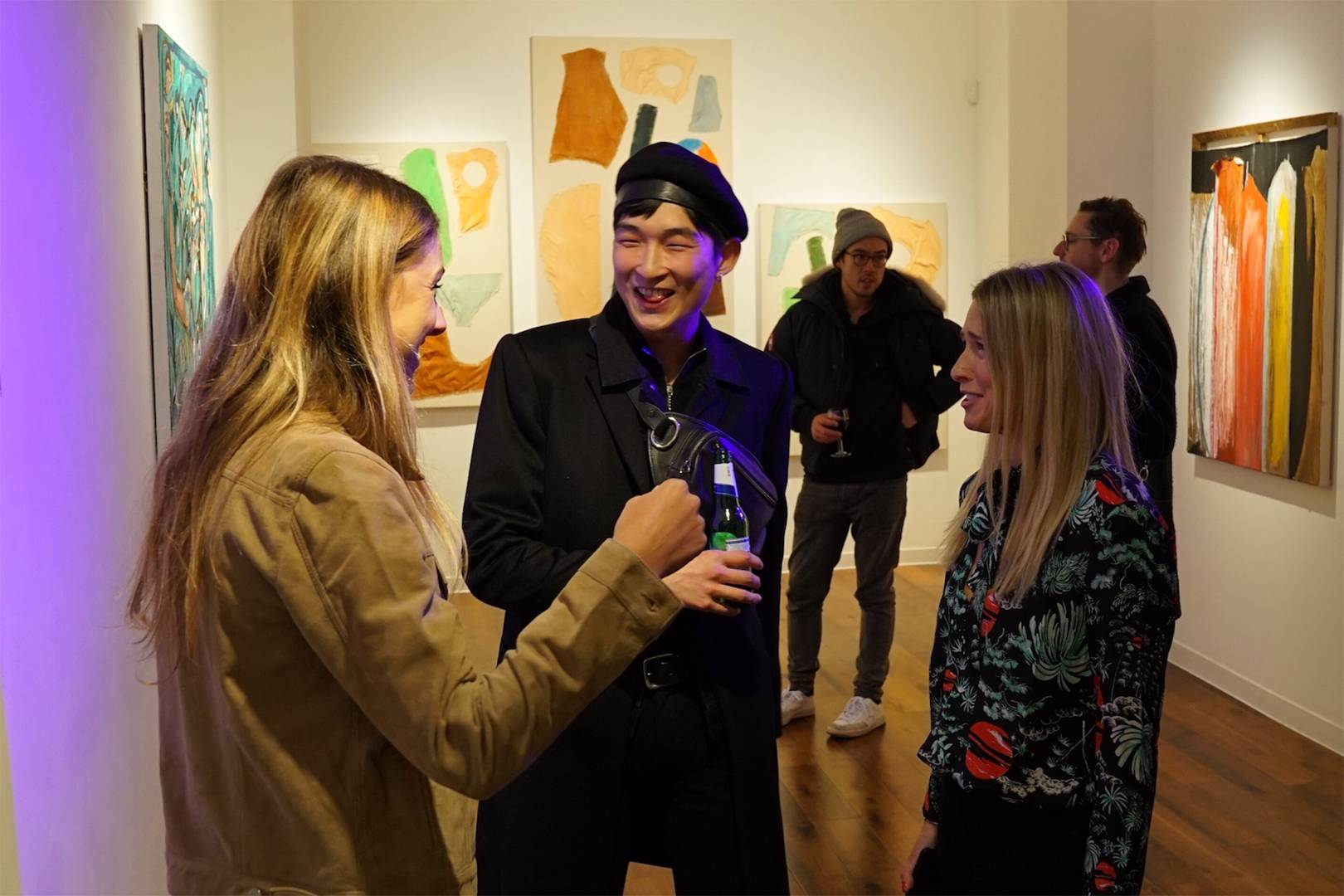 Private view of Love in a Cold Climate exhibition   Tatler