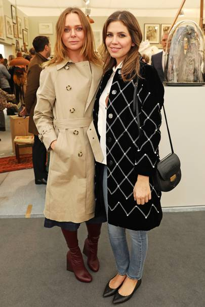 Stella McCartney and Dasha Zhukova