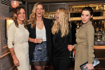 Natalie Pinkham, Olivia Hunt, Astrid Harbord and Lilly Lewis