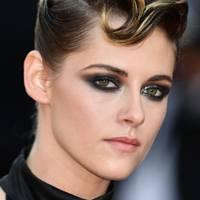 Kristen Stewart wearing Chanel brooch at Cannes Film Festival