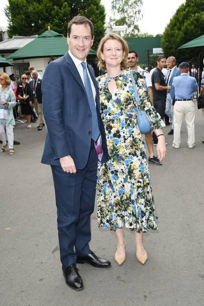 George Osborne and Frances Osborne