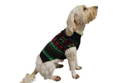 Rosewood dog Christmas jumper