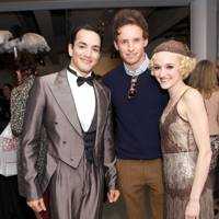 Javier Torres, Eddie Redmayne and Dreda Blow