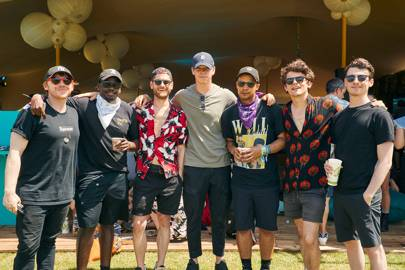 Rupert Grint, Daniel Kaluuya, Kyle Soller, Will Poulter, Jacob Anderson, Edward Bluemel and guest
