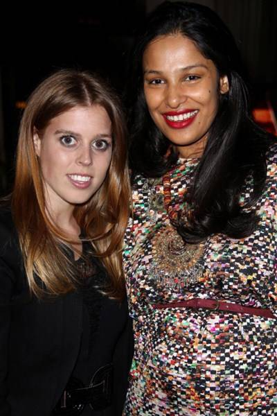 Princess Beatrice and Saloni Lodha