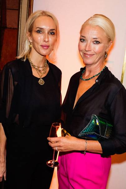 Sarah Woodhead and Tamara Beckwith-Veroni