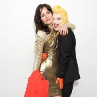 Juliette Larthe and Pam Hogg