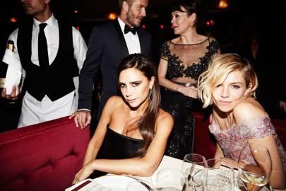 Victoria Beckham and Sienna Miller