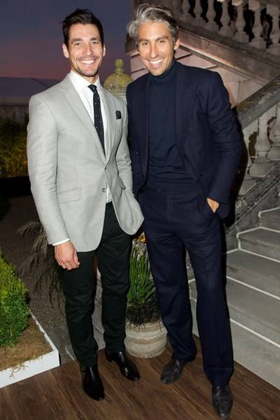 David Gandy and George Lamb