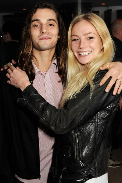 Oscar Tuttiett and Clara Paget