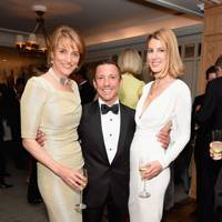 Lady Carolyn Warren, Frankie Dettori and Susanna Warren