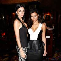 Liberty Ross and Kim Kardashian