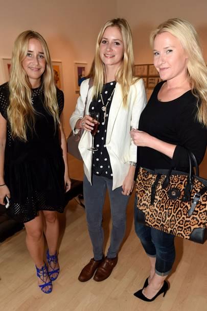 Katrina Judd, Anna Reiter and Lucy Myners
