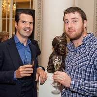 Jimmy Carr and Lloyd Langford