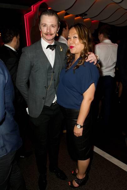 Luke Laffelle and Jenny Holmes