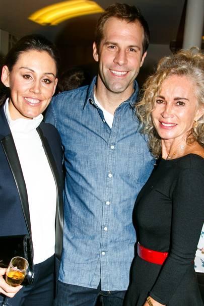 Lucy Rusedski, Greg Rusedski and Angie Rutherford