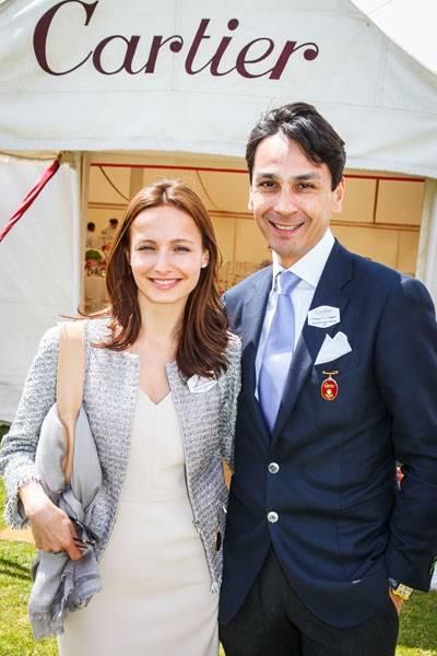 Liudmila Le Troquer and Francois Le Troquer