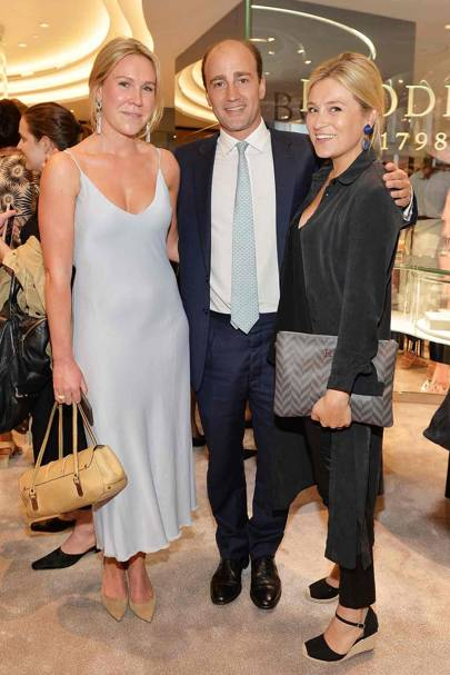 Philippa Durell, James Amos and Hetty Chidwick