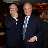 Manolo Blahnik and Nicholas Coleridge