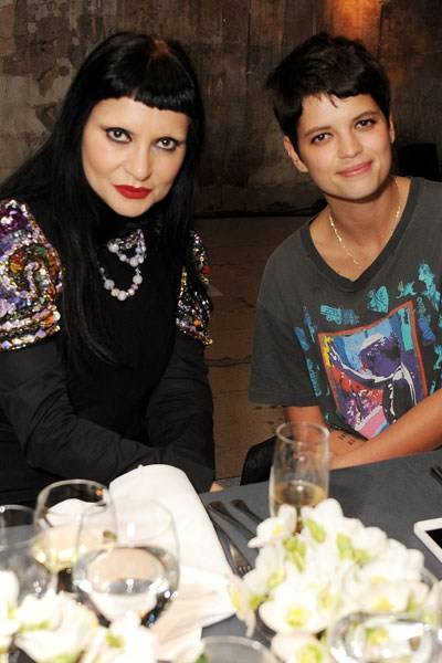 Princess Julia and Pixie Geldof