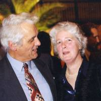 Robin Peers and Mrs Robin Peers