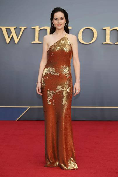 All the stars at the Downton Abbey premiere