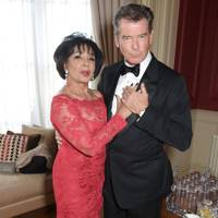 Dame Shirley Bassey and Pierce Brosnan