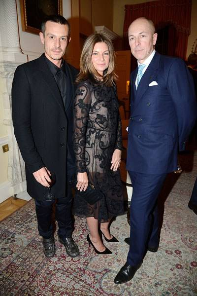Jonathan Saunders, Natalie Massenet and Dylan Jones