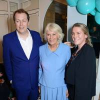 Tom Parker Bowles, Camilla, Duchess of Cornwall and Laura Lopes