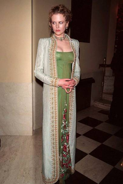 At the 'Portrait of a Lady' premiere, 1996
