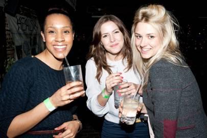 Janine Danha, Katie Watkins and Jess Lydka Morris
