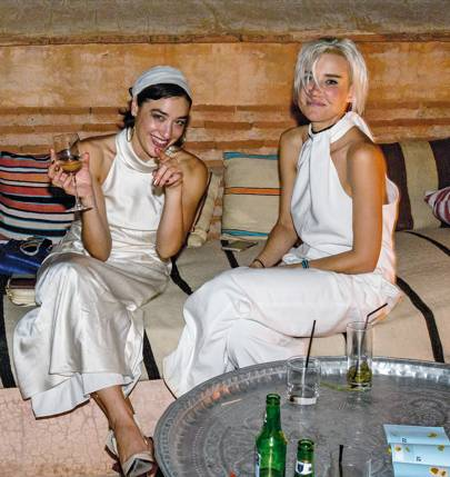 Mia Moretti and Mim Nervo