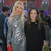 Sabine Getty and Mary Katrantzou
