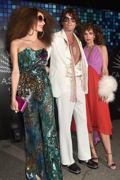 Amal Clooney, Rande Gerber and Cindy Crawford