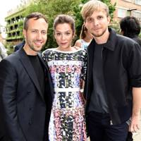 Christopher de Vos, Anna Friel and Peter Pilotto