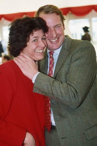 Mrs Charles Mann and Kim Bailey