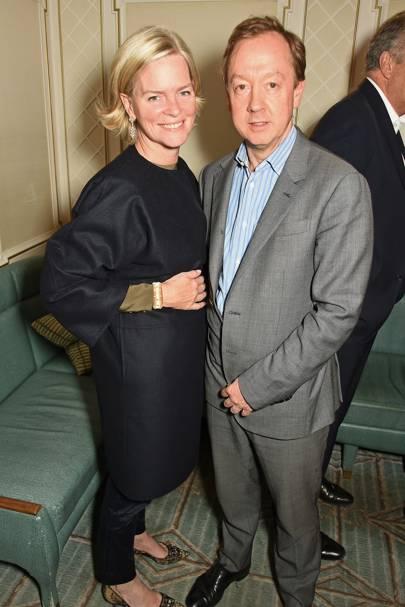 Ruth Kennedy and Geordie Greig