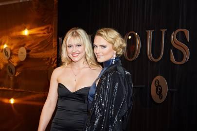 Camilla Kerslake and Francesca Dutton