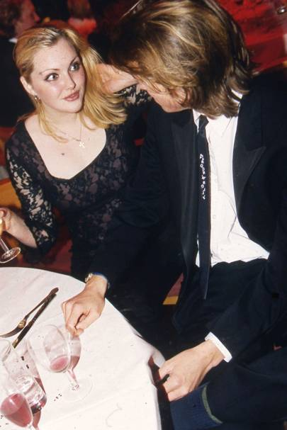 Sophie Dahl and Donald Rice