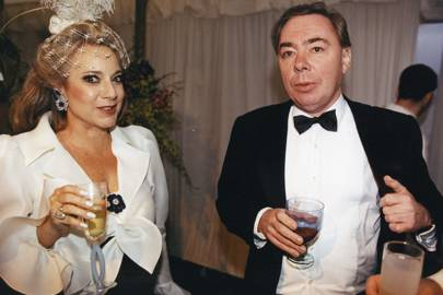 Mrs George Livanos and Lord Lloyd-Webber