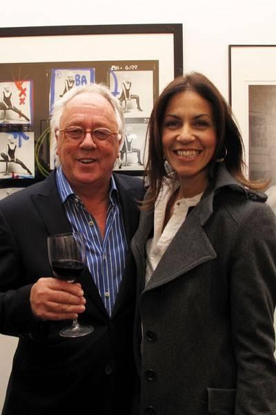 Brian Aris and Julia Bradbury