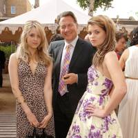 With Michael Portillo and sister Pixie at a Tatler summer party in 2006