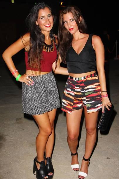 Maya Agurna and Valentina Agurna
