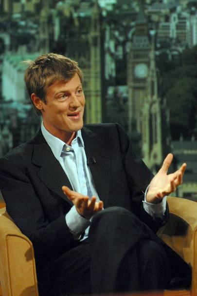 He's the best-looking person to have ever been on the Andrew Marr show...