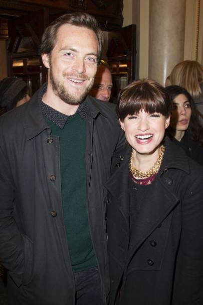 Stephen Campbell Moore and Jemima Rooper