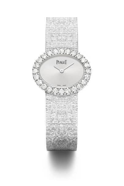 White-gold and diamond watch, £40,900, by Piaget