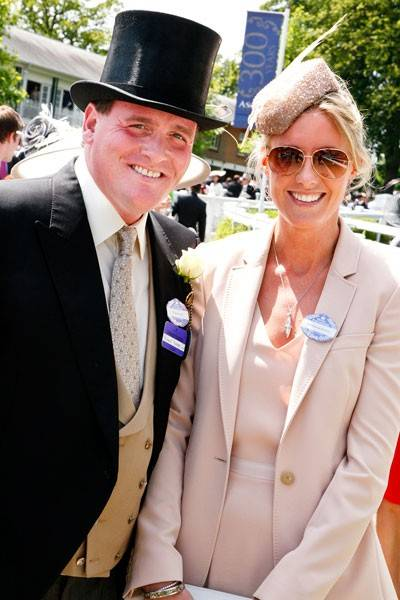 Richard Hannon and Jemima Hannon