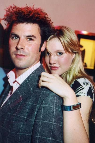 Graham Cook and Emerald Fennell