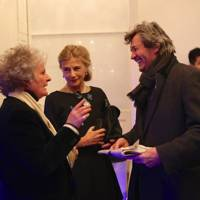 Maggi Hambling, The Duchess of Wellington and Melvyn Bragg